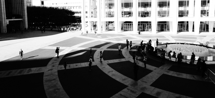 Summer Time at Lincoln Center